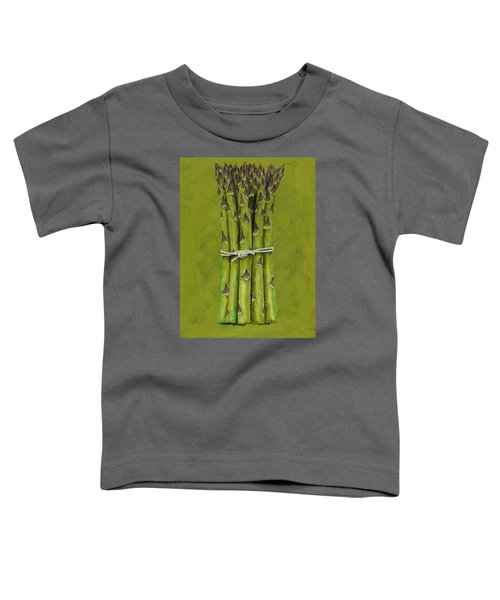 Asparagus Toddler T-Shirt by Brian James
