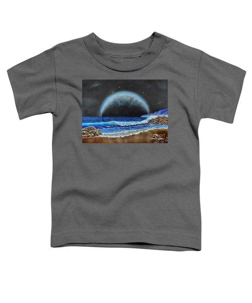 Astronomical Ocean Toddler T-Shirt