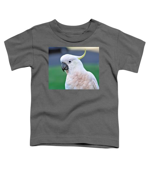 Australian Birds - Cockatoo Toddler T-Shirt