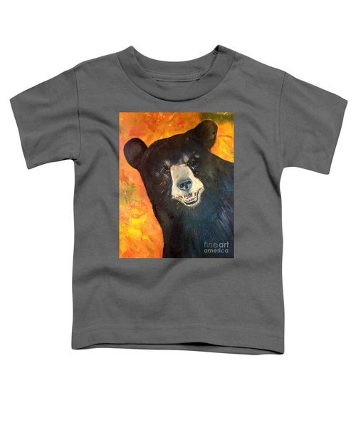 Autumn Bear Toddler T-Shirt