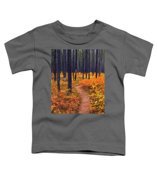 Autumn In Yellowstone Toddler T-Shirt
