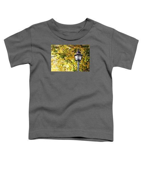 Autumn Lamp Post Toddler T-Shirt