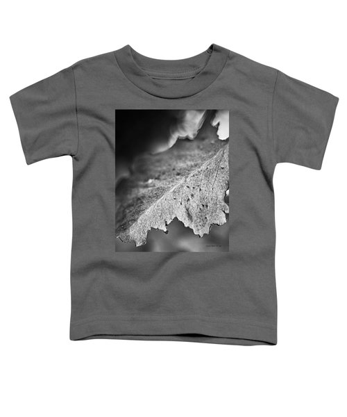 Autumn Leaves B And W Toddler T-Shirt