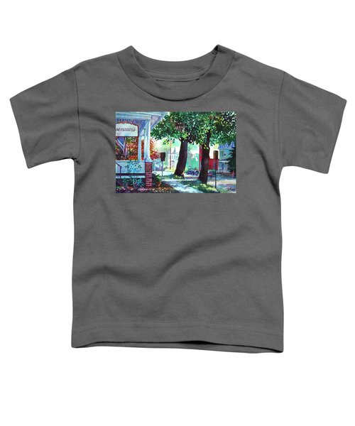 Autumn On East Main Toddler T-Shirt