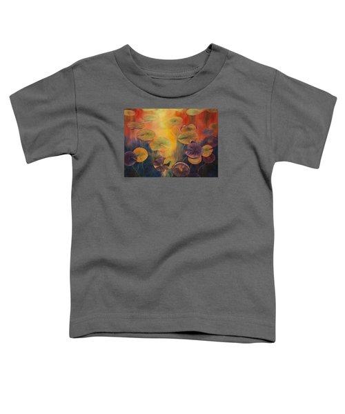 Autumn On Winslow Lake Toddler T-Shirt