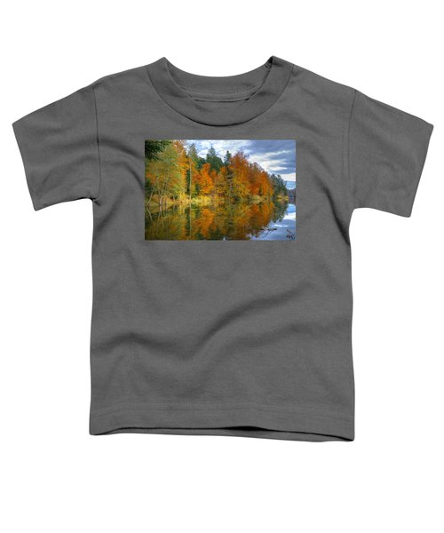 Autumn Reflection Toddler T-Shirt