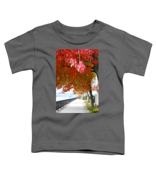 Autumn Sidewalk Toddler T-Shirt