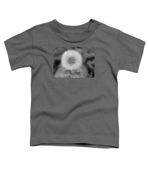 B And W Seed Head Toddler T-Shirt