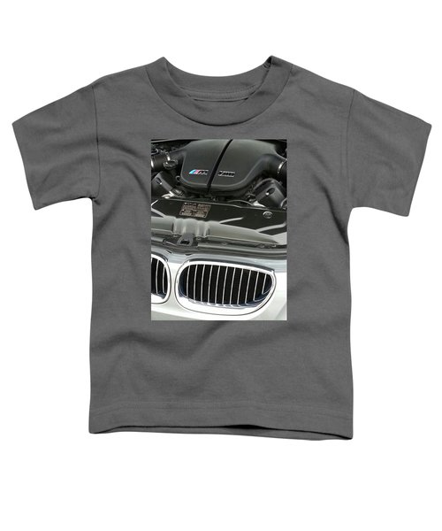 B M W M5 V10 Motor Toddler T-Shirt