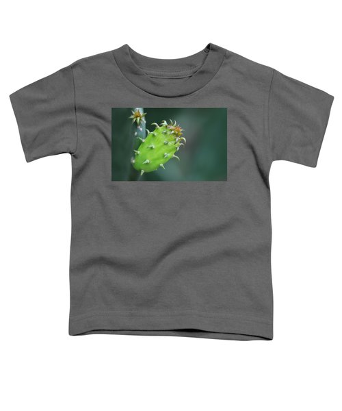 Baby Cactus - Macro Photography By Sharon Cummings Toddler T-Shirt