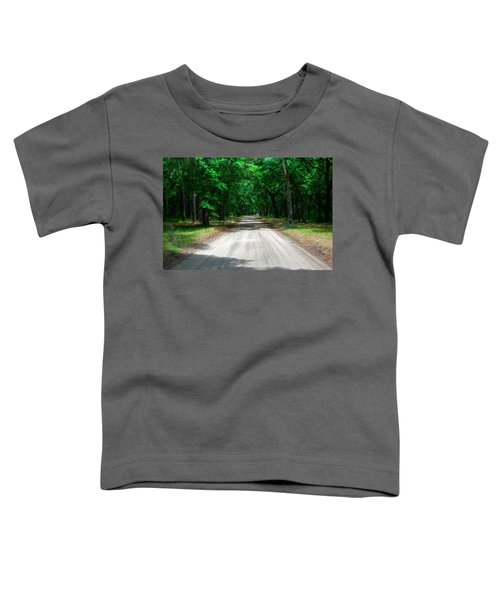 Back Roads Of South Carolina Toddler T-Shirt