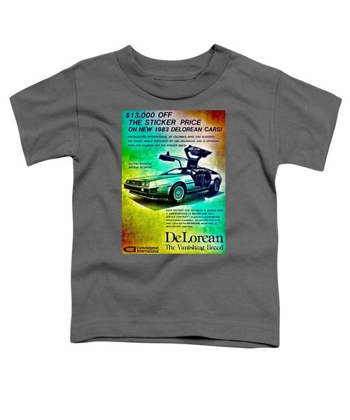 Back To The Delorean Toddler T-Shirt