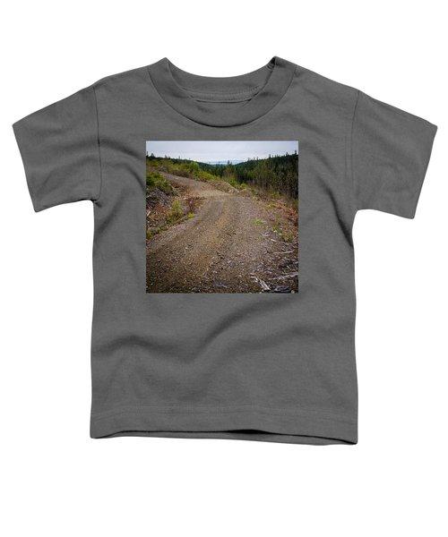 4x4 Logging Road To Adventure Toddler T-Shirt