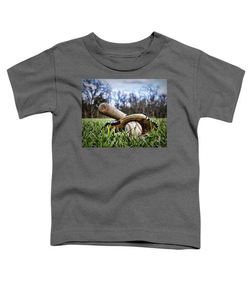 Backyard Baseball Memories Toddler T-Shirt