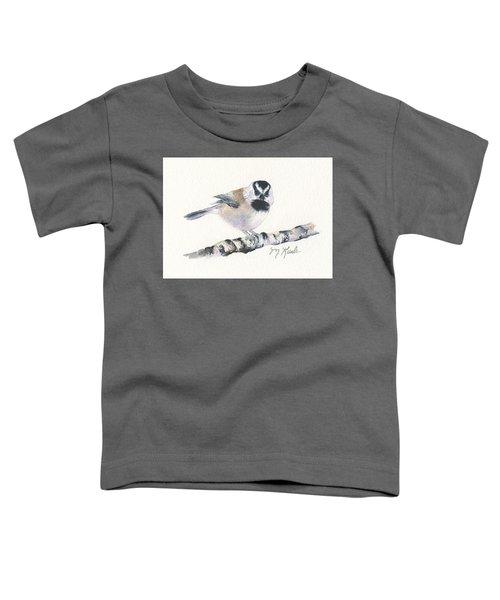 Backyard Busybody - Mountain Chickadee Toddler T-Shirt