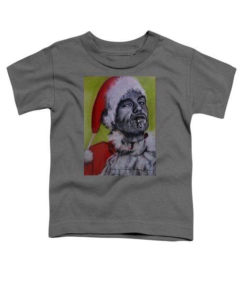 Bad Santa Toddler T-Shirt