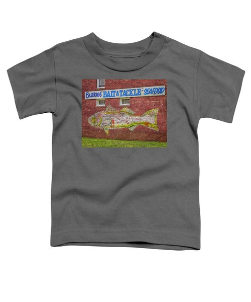 Bait Tackle Seafood Shop Detail Toddler T-Shirt