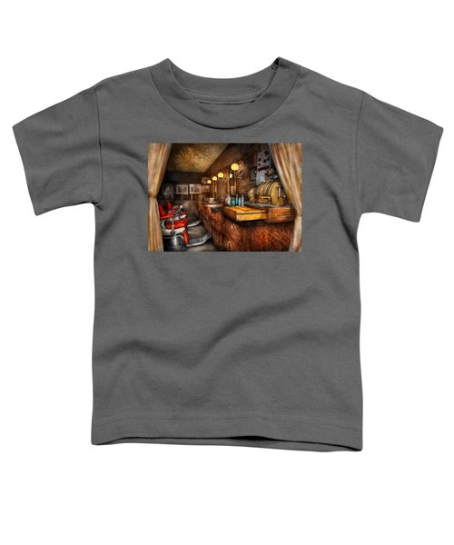 Barber - Closed On Sundays Toddler T-Shirt