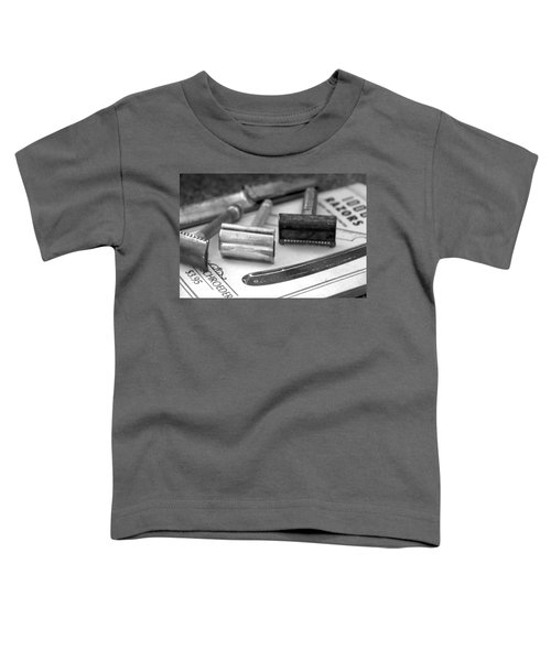 Barber Shop 20 Bw Toddler T-Shirt