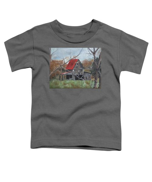 Barn - Red Roof - Autumn Toddler T-Shirt