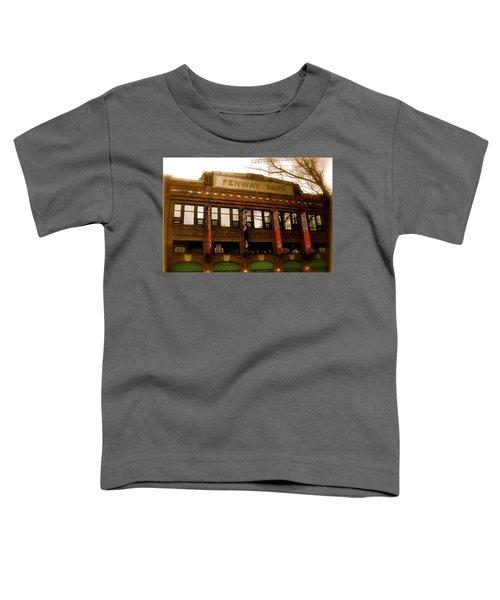 Baseballs Classic  V Bostons Fenway Park Toddler T-Shirt