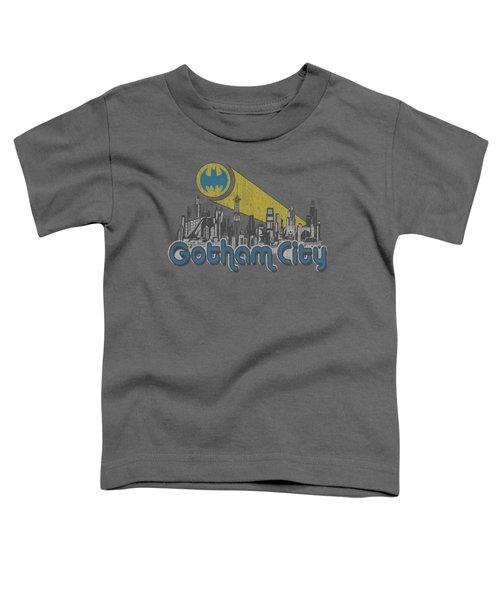 Batman - Gotham City Distressed Toddler T-Shirt