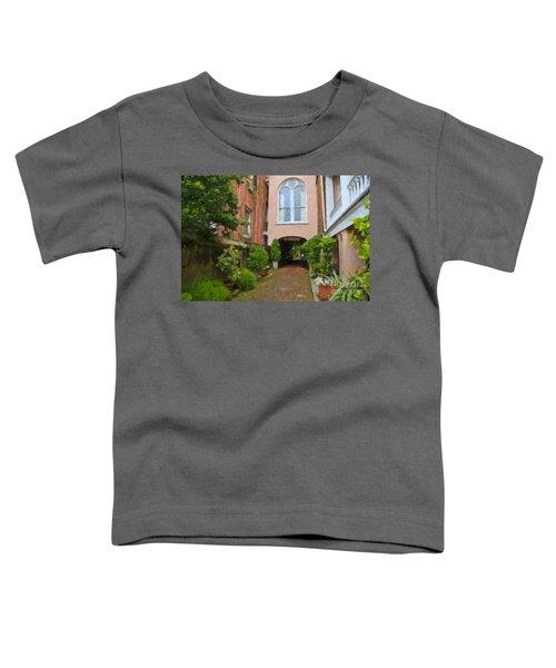 Battery Carriage House Inn Alley Toddler T-Shirt