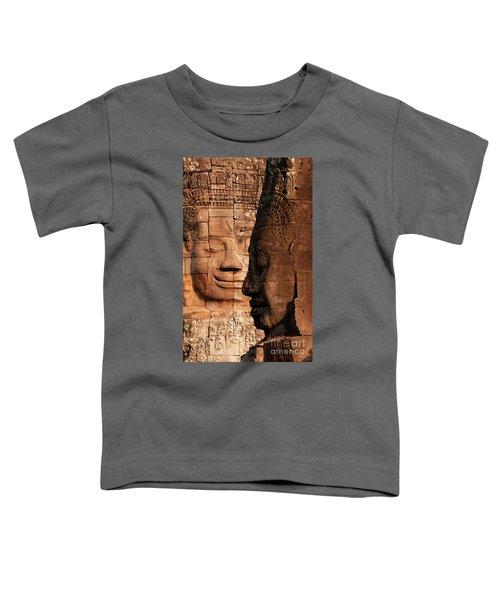 Bayon Faces 02 Toddler T-Shirt
