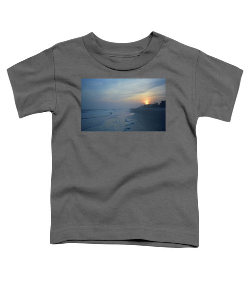 Beach And Sunset Toddler T-Shirt
