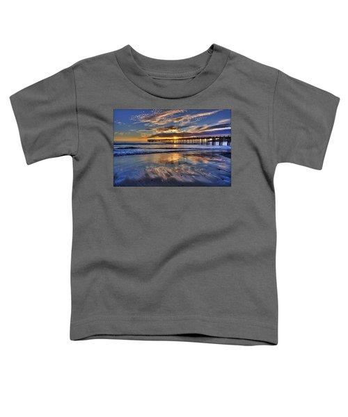Beautiful Cayucos Toddler T-Shirt