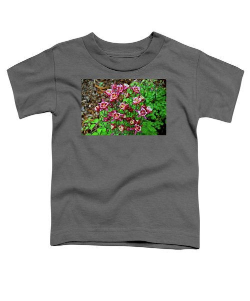 Beautiful Columbine   Toddler T-Shirt