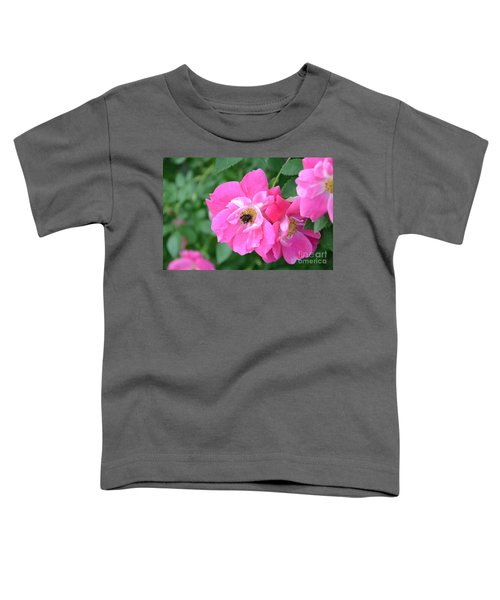 Bee Rosy Toddler T-Shirt