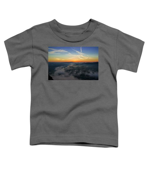 Before Sunrise On The Lilienstein Toddler T-Shirt