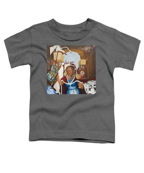 Bellona Goddess Of War Sister Of Mars Toddler T-Shirt