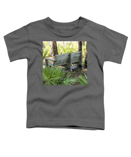 Bench In Nature Toddler T-Shirt