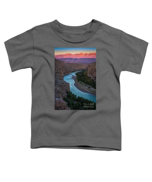 Bend In The Rio Grande Toddler T-Shirt