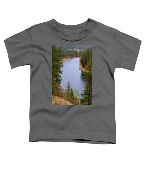 Bend In The River Toddler T-Shirt