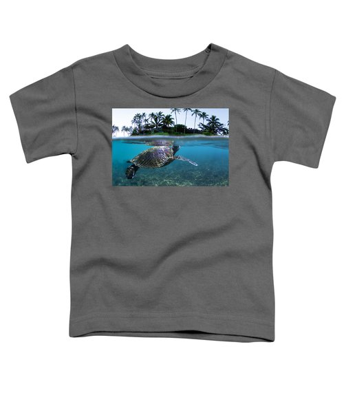 Beneath The Palms Toddler T-Shirt