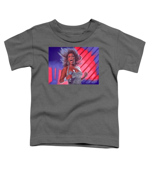 Beyonce Toddler T-Shirt by Paul Meijering