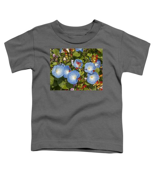 Bhubing Palace Gardens Morning Glory Dthcm0433 Toddler T-Shirt