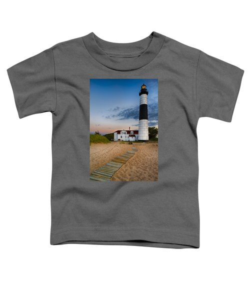 Big Sable Point Lighthouse Toddler T-Shirt