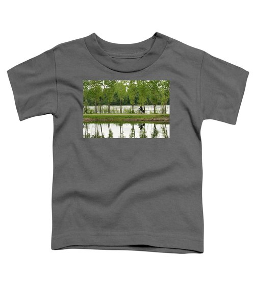 Bike Path Toddler T-Shirt