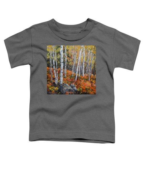 Birch Trees Toddler T-Shirt