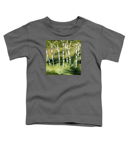 Birches On A Hill Toddler T-Shirt