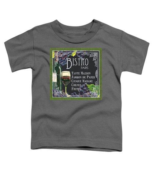 Bistro Paris Toddler T-Shirt