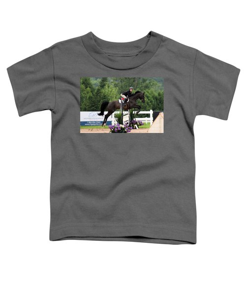 Black And Purple Toddler T-Shirt