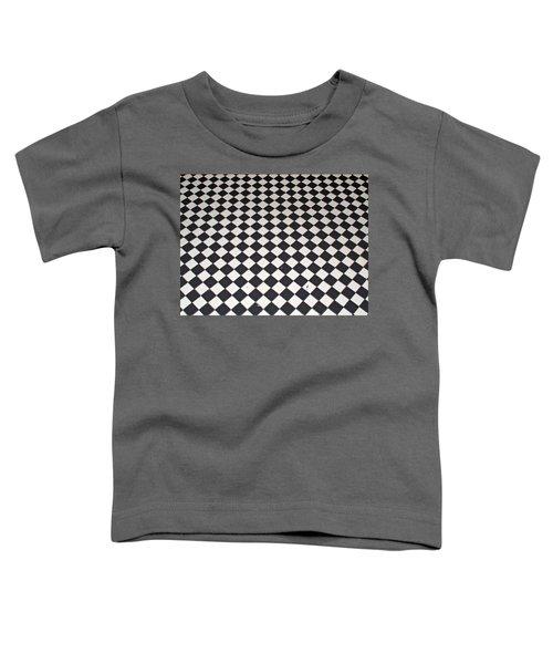 Black And White Toddler T-Shirt