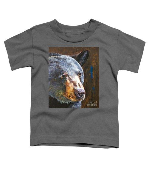 Black Bear The Messenger Toddler T-Shirt