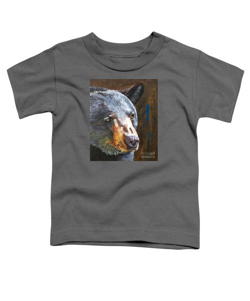 Black Bear The Messenger Toddler T-Shirt