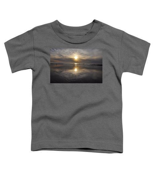 Black Sunset Toddler T-Shirt